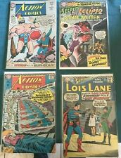 ACTION COMICS 308 344 G HOUSE OF SECRETS 78 VG SUPERMAN GIRL FRIEND LOIS LANE 75
