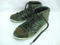 Unique Adidas Originals Womens 7.5 Adi Hoop Mid Knit Yarn Shoes - One of a Kind?