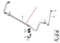 BMW M4 F82 Front Sway Bar Anti Roll Stabilizer 31352284760 2016 New Genuine