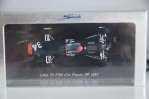 SPARK S1613 LOTUS 25 BRM #34 FRENCH GP 1964 CHRIS AMON  SEALED 1:43