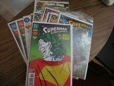 Action comics full run 708-722 Annual 7 Fine 16 total issues