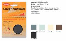Gesäß - Hosentasche Ersatztasche Kleiber 120 z. aufbügeln beige 03
