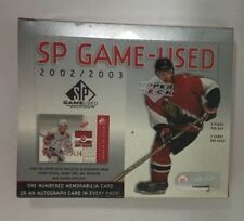 2002-03 Upper Deck SP Game Used Factory Sealed Hobby Hockey Box