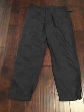 Donna Karan Nylon Black Pants Sz. XL NEW C9833725S $158