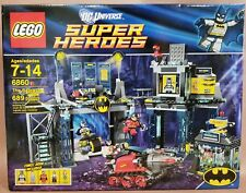 LEGO DC Universe Super Heroes 6860 The Batcave 689 pcs NEW IN SEALED BOX NIB