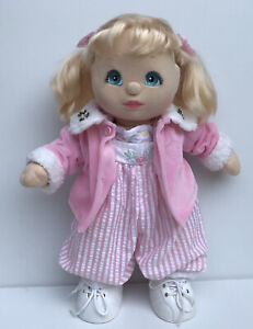 Vintage Pre-owned My Child Doll Mattel Inc 1985 (Peach skin,No Green Heart)