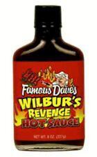 Famous Dave's Wilbur's Revenge Hot Sauce - 8 oz.