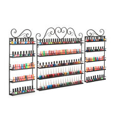 3pcs Set Nail Polish Wall Rack Bottle Perfume Organizer Shop Display Shelf  US