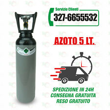 Bombola Azoto 5 Litri, completa di carica.