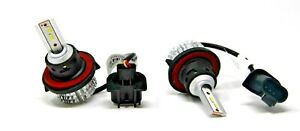 (Set of 4) K1 H13 LED Headlight 6000K New