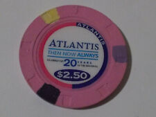 New ListingAtlantis Casino $2.50 hotel casino gaming poker chip ~ Bahamas