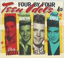Teen Idols - Elvis Presley, Frankie Avalon Ricky Nelson, Paul Anka *4CD Box Set*