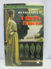 A Doll's House by Henrik Ibsen - Dover Thrift Edition (1992, Paperback, Reprint)