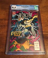 Detective Comic #664 CGC 8.5! 1st Appearance Of Electrocutioner! ⭐️⭐️⭐️