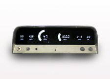 1964-1966 Chevy Truck Digital Dash Panel White LED Gauges Lifetime Warranty