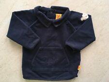 STEIFF Langarmshirt, Gr. 62, blau, mit Taschen