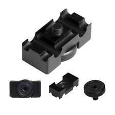 Aluminum Alloy Tether Holder Cable Lock Clip Clamp Mount for DSLR Camera _GG