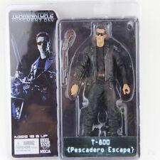 """NECA Terminator Judgment Day T-800 Pescadero Escape 7"""" Action Figure Model"""