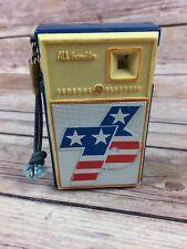 Vintage General Electric Spirit Of 76 Transistor A.M. Radio Works