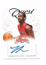 Terrence Ross 2012-13 Panini Crusade, Quest, (Autograph) !!