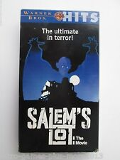 Salem's Lot: The Movie (VHS, 1993, Theatrical & Cable TV Cut.) Warner Bros. Hits