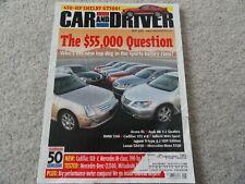 2005 Kia Sportage / 2005 VW Jetta / 2006 Mercedes CLS500 Car Driver Magazine