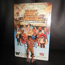 """LJN WWF/wwe HULK HOGAN """"ROCK N WRESTLING""""Jimmy Snuka Eraser,moc,GEM.""""LAST ONE""""."""