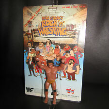 "Winston WWF/wwe HULK HOGAN ""ROCK N WRESTLING""Jimmy Snuka Eraser,moc,GEM,ljn."