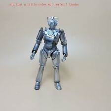 """Doctor Dr Who Cyberman Action figure 6"""" old lost a little color"""