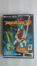 Dragons Lair 3D Return to the Lair... Vintage PC Game