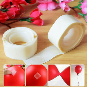 100 Dots/roll Glue Paste Balloon Permanent Adhesive Wedding Party Decor