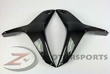 2007 2008 Honda CBR600rr Upper Side Radiator Mid Cowl Panel Fairing Carbon Fiber
