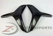 2007 2008 Honda CBR600rr Upper Side Mid Cowl Panel Fairing 100% Carbon Fiber