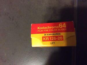 Kodachrome64 KR 126-20 Film