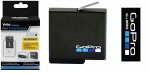 ORIGINAL GoPro RECHARGEABLE BATTERY AABAT-001 + CHARGER FOR HERO5 HERO6  HERO7