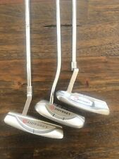Lot of 3 RH Odyssey Blade Putters/ White Hot XG, Rossie Blade, Dual Force 554
