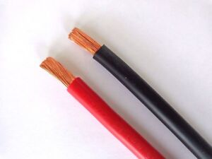 Batteriekabel Stromkabel Fahrzeugleitung 6 10 16 25 35 50 70 95 mm² Kabel per m