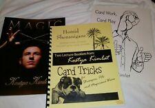 Kostya Kimlat Card Magic Notes, Book & Magazine Cull Penn & Teller Fool Us