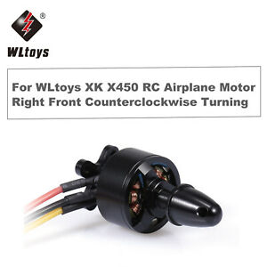 WLtoys XK X450 RC Airplane Aircraft Helicopter Fixed Wing Motor 7.4V 2300KV E6A0