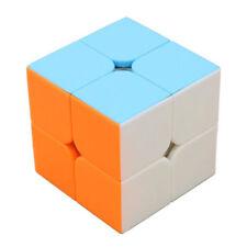 Speed Professional Rubik Cube Magic Turns Quicker Twist Color 2X2X2 Puzzle Toy