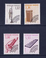 timbre France préoblitéré  musique   n° 228/31 **