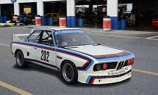 1973 BMW CSL Vintage Classic Race Car Photo (CA-0907)