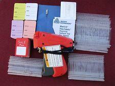 Avery Dennison Fine Price Tag Gun 1000 Barb 500 Mix Price Tag 1 Ext Needle