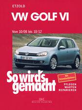 VW GOLF 6 2008-2012 REPARATURANLEITUNG SO WIRDS GEMACHT 148 WARTUNGSHANDBUCH