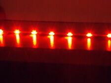 2x 30cm RED ULTRA THIN Audi R8 flexible led strip side lights