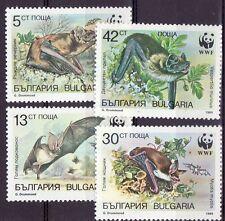 Bulgaria 1989 - MNH - Dieren / Animals (Bats) WWF/WNF