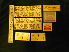 new Decal set for Massey Harris 44 Tractor decals