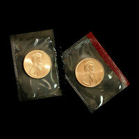 1996 P+D  Lincoln Memorial Penny ~ Uncirculated Coins Original Mint Cello