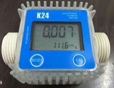 K24 10-120L / MIN turbo electronic flowmeter Diesel fuel Methanol Urea Precision