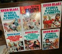 LIBRO:stock n 6 Mondadori - Enzo Biagi - Storie a fumetti ...........1981
